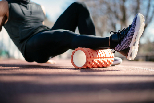 foam rolling exercise
