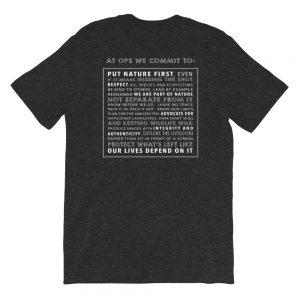 OPS Manifesto Unisex Short Sleeve T-Shirt